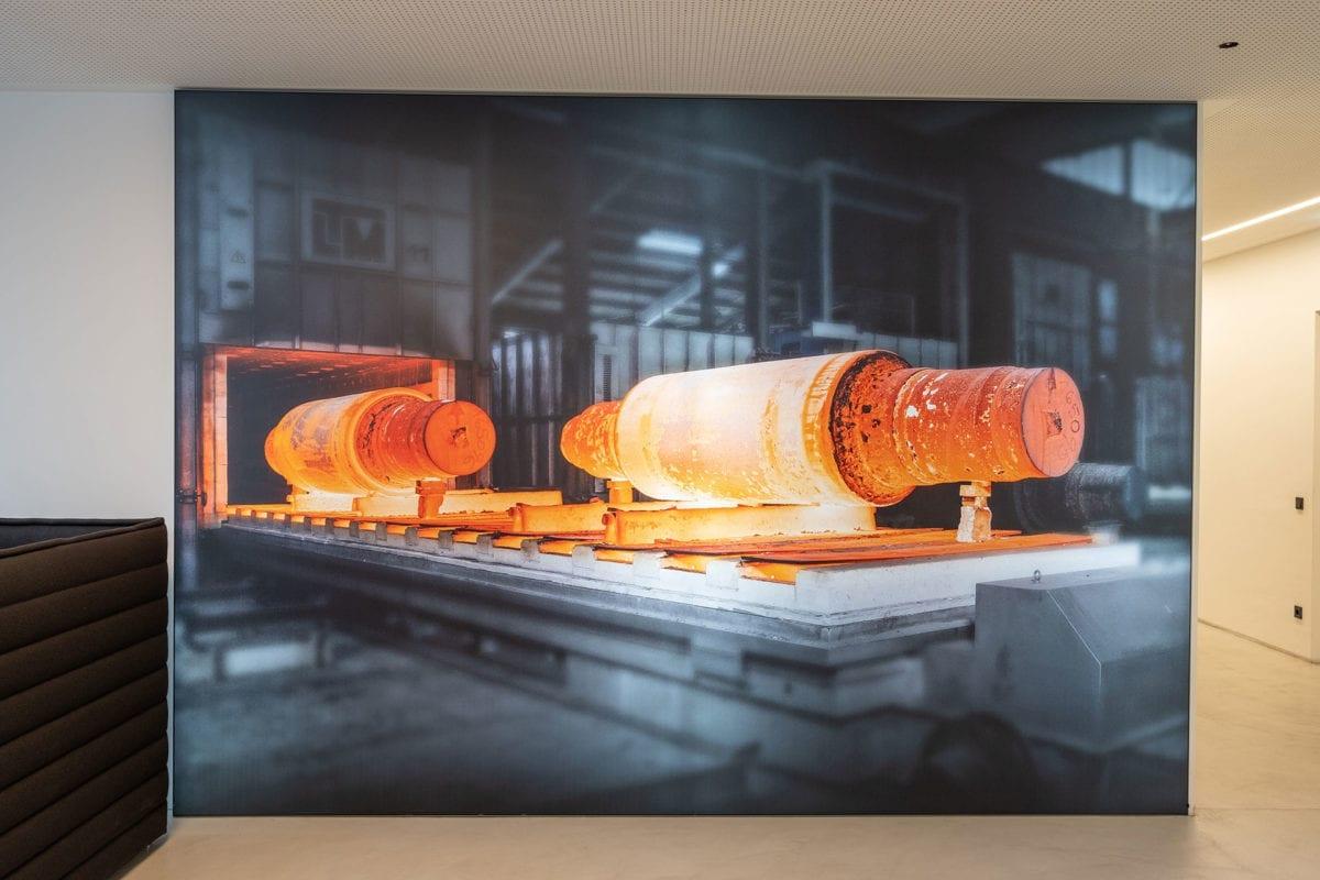 Leuchtbild 50-120 mm - Anwendungsbeispiel