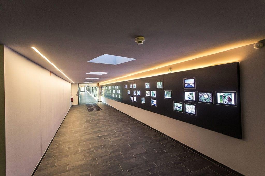 Referenz - Fassadenbeleuchtung, Icocell